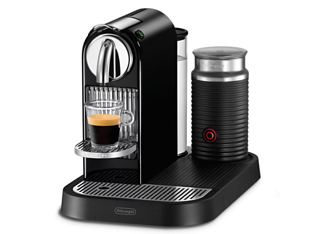 De'Longhi Nespresso Citiz Machine with milk frother